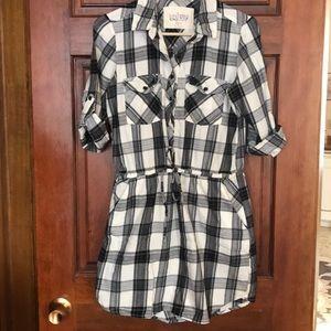 Girl Krazy Plaid Dress